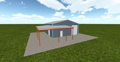 Cool 3D #marketing http://ift.tt/2u0V5FT #barn #workshop #greenhouse #garage #roofing #DIY