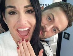 Nikki Bella dished on her engagement to Artem Chigvintsev and explained why they probably won't tie the knot in 2020 on The Bellas Podcast Christina Milian, John Legend, John Cena, Kris Jenner, Khloe Kardashian, Celebrity Gossip, Celebrity News, Brie Bella Wwe, Artem Chigvintsev