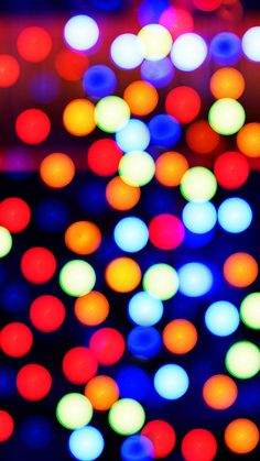 Abstract Colorful Spots Background iPhone 6 wallpaper