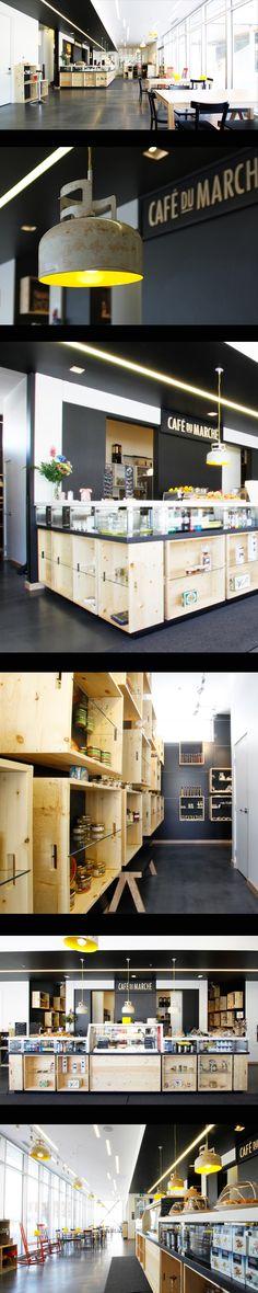 STGM Architectes - Café du Marché, Hôtel La Ferme, Baie St-Paul, en consortium avec Lemay Michaud Architectes et Coarchitecture (Photos : Alexandre Guérin)