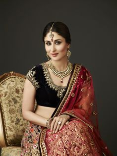 kareena kapoor #lehenga #choli #indian #hp #shaadi #bridal #fashion #style #desi #designer #blouse #wedding #gorgeous #beautiful