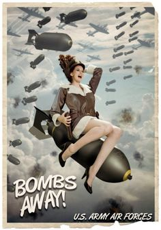 Aviation et Pinup ! - Page : 203 - Salon de discussion - FORUM Les clubs Pinup Art, Nose Art, Image Avion, Dibujos Pin Up, Pin Up Pictures, Pin Up Drawings, Pin Up Girl Vintage, Pin Up Posters, Airplane Art
