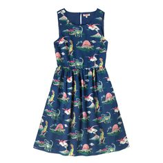 Dino  Sleeveless Dress | Dresses | CathKidston