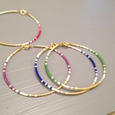 Friendship Bracelet Beaded friendship bracelet by ToccoDiLustro