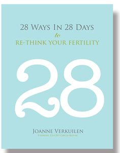 Check out our ebook, 28 Ways In 28 Days to Re-think your Fertility. We hope this e-book provides an extra bit of encouragement and support throughout your journey and that you find the tips to getting pregnant in the e-book helpful!