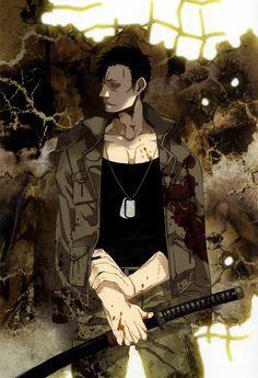 Gangsta Anime Nicolas Brown Art by corphish2.deviantart.com on @DeviantArt