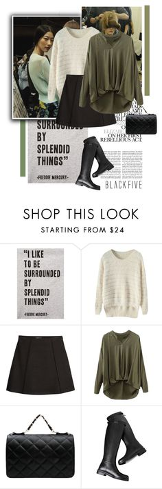 """Blackfive #9"" by juhh ❤ liked on Polyvore featuring Tee and Cake, Erdem, MANGO and BlackFive"