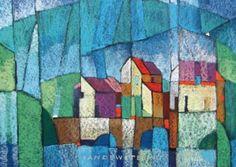 FRAGMATIC ART  Kees Vandewetering  pastels