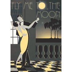 art deco posters magazine covers couples - Google Search