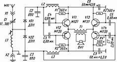 Loudspeaker crystal set with voltage doubling detector circuit diagram