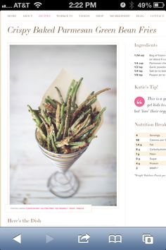http://dashingdish.com/recipe/crispy-baked-parmesan-green-bean-fries/