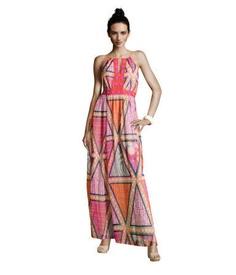 Printed Chiffon Dress (H & M, $19.95)