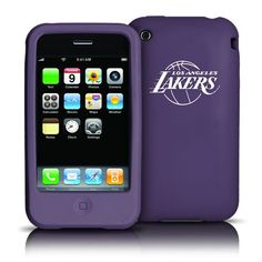 Los Angeles Lakers iPhone 3G / 3GS Silicone Case Wrap your iPhone in team spirit! This silicone Varsity Jacket protects your iPhone 3G / 3GS with a soft silicone rubber skin. The laser-engraved logo will not fade or rub off. Easy access to all ports and touchscreen