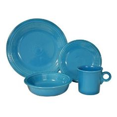 Fiestaware..   I love to mix the colors!