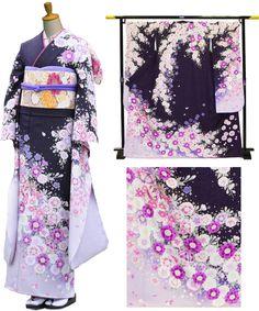【楽天市場】振袖レンタルフルセット(成人式用)279〔成人式 振袖〕〔振袖レンタル〕〔レンタル振袖〕〔着物レンタル〕【往復送料無料】:きものレンタル宅配便 Japanese Outfits, Japanese Fashion, Japanese Geisha, Traditional Japanese Kimono, Traditional Dresses, Kimono Tradicional, Cute Kimonos, Kimono Design, Old Dresses