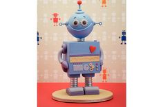 ❤️ Robot  Cake sculpture class, featured in 'Cute Cakes' Gravity Defying Cake, Gravity Cake, Birthday Cake Kids Boys, Birthday Cakes, 4th Birthday, Robot Cake, Debbie Brown, Cake Structure, Biscuit