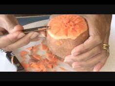 Art of Fruit and Vegetable Carving Part 9