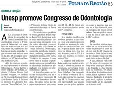 Unesp promove Congresso de Odontologia em Araçatuba