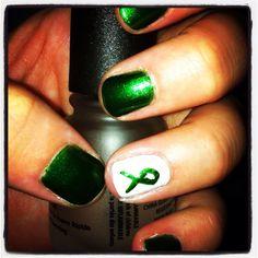 Cerebral Palsy Awareness Nails