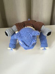 Ravelry: Blastoise pattern by Edward Yong Crochet Animals, Crochet Hats, New Adventures, Dinosaur Stuffed Animal, Stuffed Animals, New Zealand, Ravelry, Pokemon, Crafty