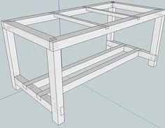 Grundaufbau meines Multifunktionswerktisches Arbeitstisch,Werkbank,Werktisch,Multifunktionstisch