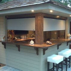 outdoor bar storm protection - Google Search