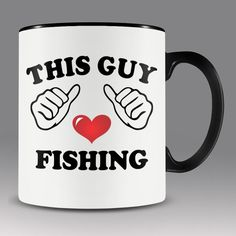 Fishing mug i love