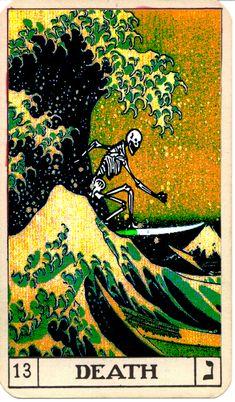 "alex-blaise: "" Digital artwork by Alex Blaise ""death on vacation. Photo Wall Collage, Collage Art, Tarot Death, Art Hippie, Art Carte, Ouvrages D'art, Illustration, Art Inspo, Cool Art"