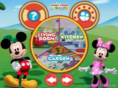 Mickey Mouse Clubhouse App für Kinder   iPad iPhone