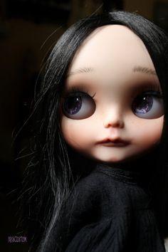 Ooak Custom Blythe Art Doll Aïko by Iriscustom by aline8 on Etsy