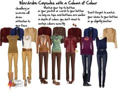 capsule wardrobe examples | Wardrobe capsules column of colour by imogenl featuring Oscar de la ...