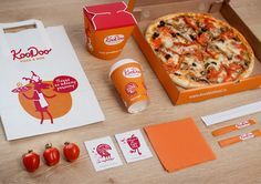 KooDoo Pizza&Wok on Behance
