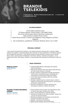 Makeup Artist Resume Sample   Resume