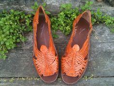 Orange Huaraches