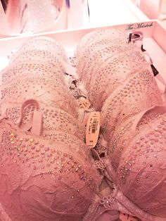 Victoria's Secret | bra | embellishment | blush pink