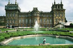 Blenheim Castle, England-Winston Churchill was born here when his mother was attending a ball at the palace and went into labor.