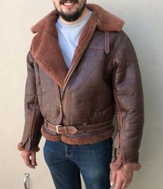 86e7c092eb5 26 Best Leather Bomber jackets images in 2019
