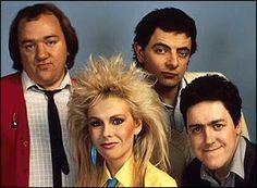 Mel Smith, Rowan Atkinson, Pamela  Stephenson and Griff Rhys-Jones in Not the Nine O'Clock News
