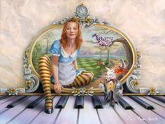 from Tori Amos RAINN calendars, art by Victoria Moore