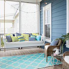 What better way to enjoy gorgeous beach views than from a comfortable porch or deck? Find your own outdoor inspiration from our favorite relaxing retreats.