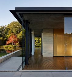 Wirra Willa Pavilion by Matthew Woodward Architecture (7). Wirra Willa Pavilion is a private residence located in Somersby, Australia. It was designed by Matthew Woodward Architecture, and has lovely views over the surrounding landscape.