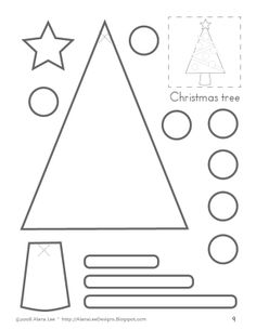 Alana Lee Designs ~ Custom Photo Products with Personality: Holiday Cutting Crafts for Kids Preschool Christmas, Halloween Crafts For Kids, Noel Christmas, Christmas Crafts For Kids, Christmas Activities, Christmas Projects, Christmas Themes, Christmas Printables, Fall Halloween