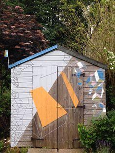 Shed project for the Hebden Bridge Arts Festival 2014 - Kasia Breska