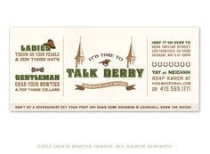 talk derby to me kentucky derby printable set