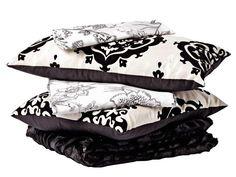 modernos cojines blanco y negro