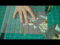 """~ How to """"Fussycut"""" Fabric for a Quilt"""