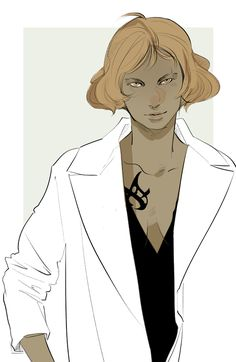 Cassandra Jean and I got to talking, and this happened. The characters of the Mortal Instruments, gender-swapped.  Jace (Jayce?)