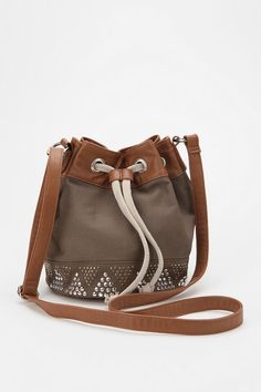 Ecote Pyramid Stud Bucket Bag