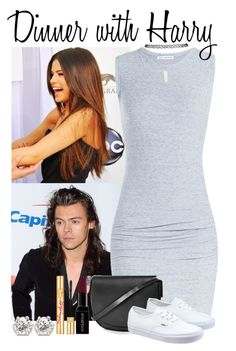 """""""23. Dinner with Harry"""" by queenxxbee ❤ liked on Polyvore featuring James Perse, Wet Seal, Topshop, Vans, Smashbox, PUR, women's clothing, women's fashion, women and female"""