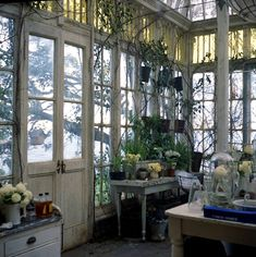 onservatory doors from practical magic #conservatorygreenhouse